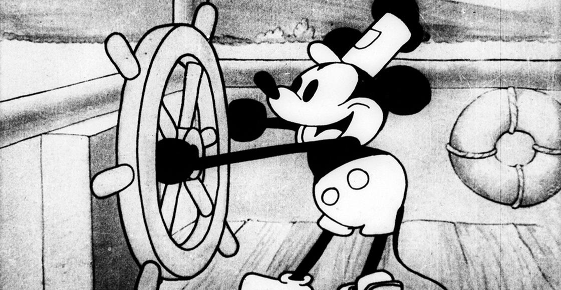 'Steamboat Willie': El corto que catapultó a la fama a Mickey Mouse y Walt Disney