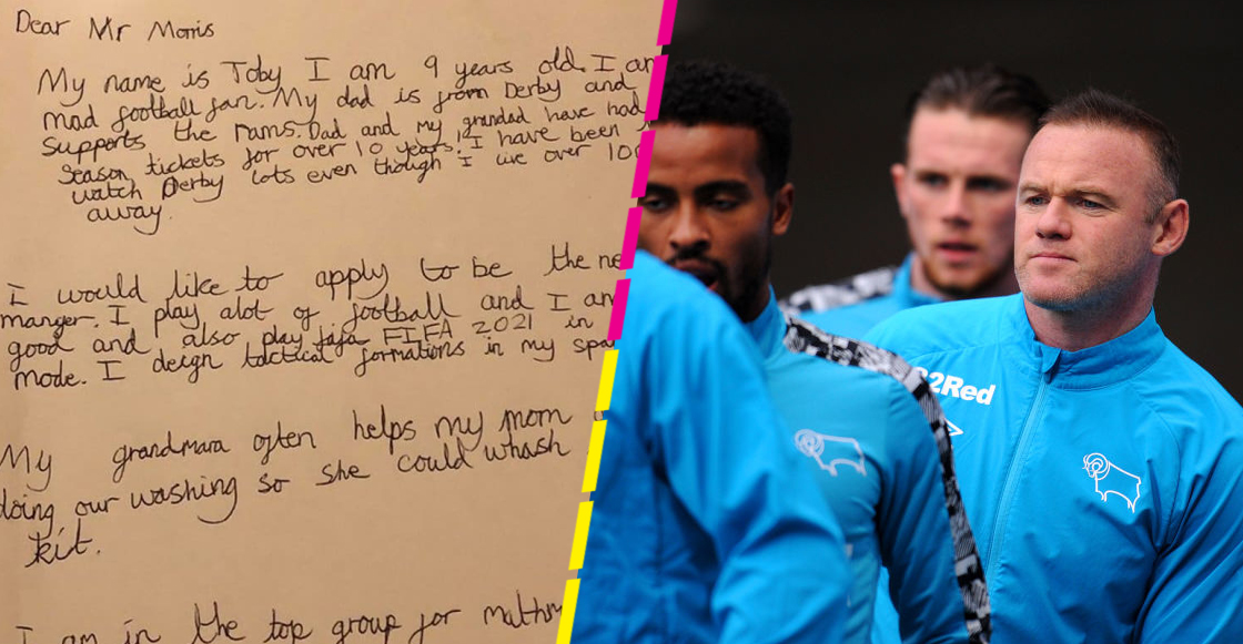 Toby Hall: El niño de 9 años que se propuso para ser el DT del Derby County