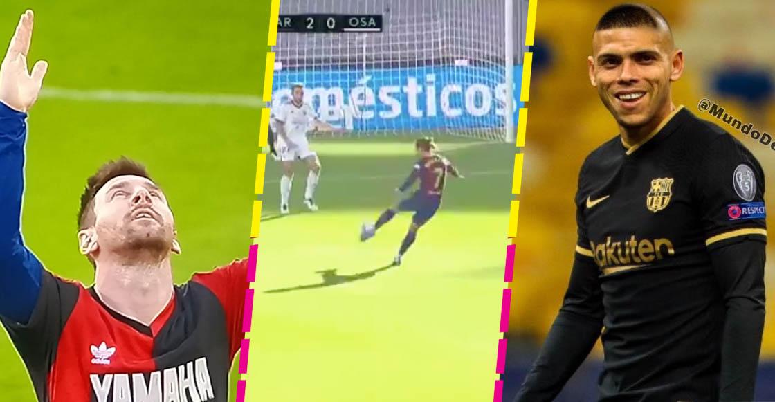 La casi mano de Messi, el golazo de Griezmann y Braithwaite el 'Fenómeno': Barcelona venció al Osasuna