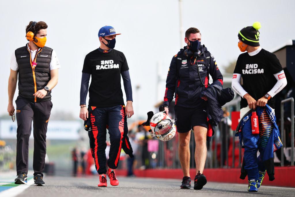 Hamilton siempre en primero, 'Checo' rozó el podio y Stroll 'atropelló' a un mecánico: Lo que nos dejó el Gran Premio de Emilia Romagna