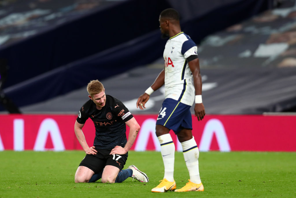 El noveno de Heung Min Son, la mano de Gabriel Jesús y el Tottenham venció al Manchester City