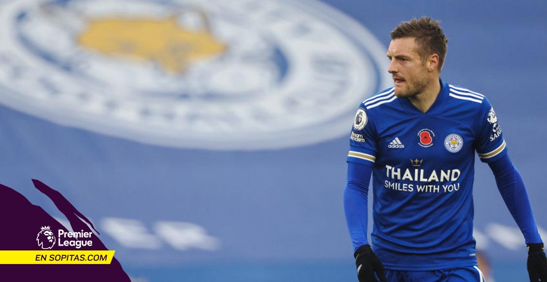 La marca que rompió Jamie Vardy en la victoria del Leicester ante los Wolves