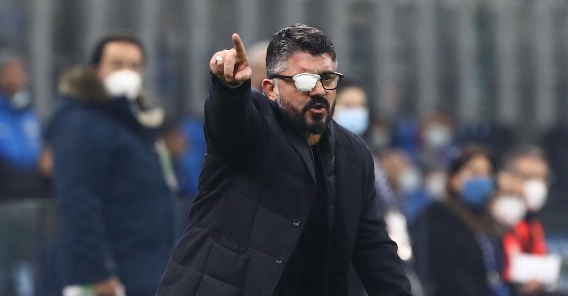¿Por qué Gennaro Gattuso utiliza un parche en el ojo derecho?