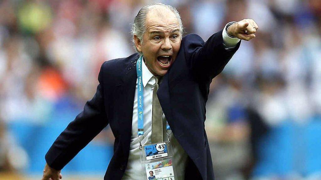 Alejandro Sabella Copa del Mundo Brasil 2014