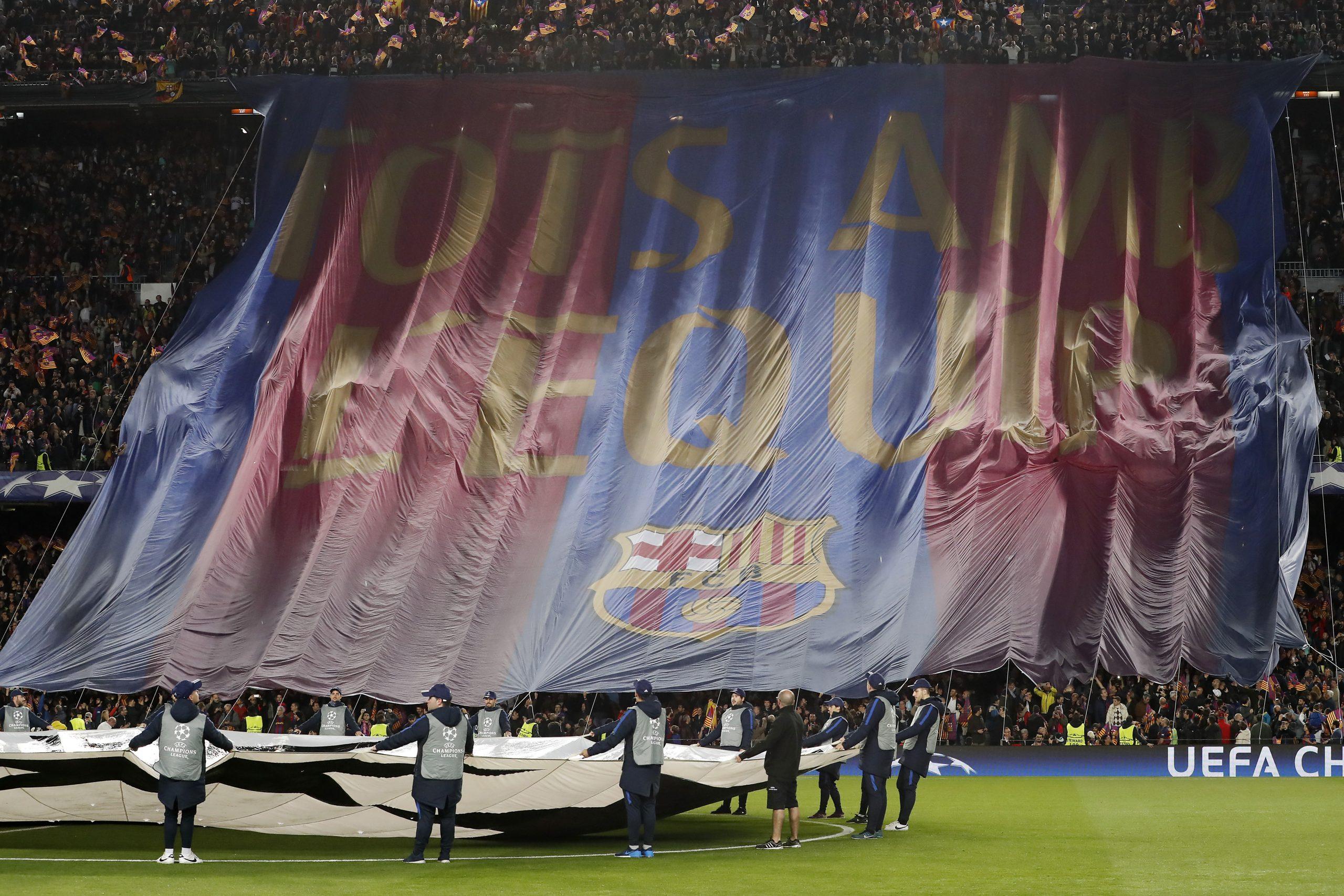Camp Nou Barcelona vs PSG 2017