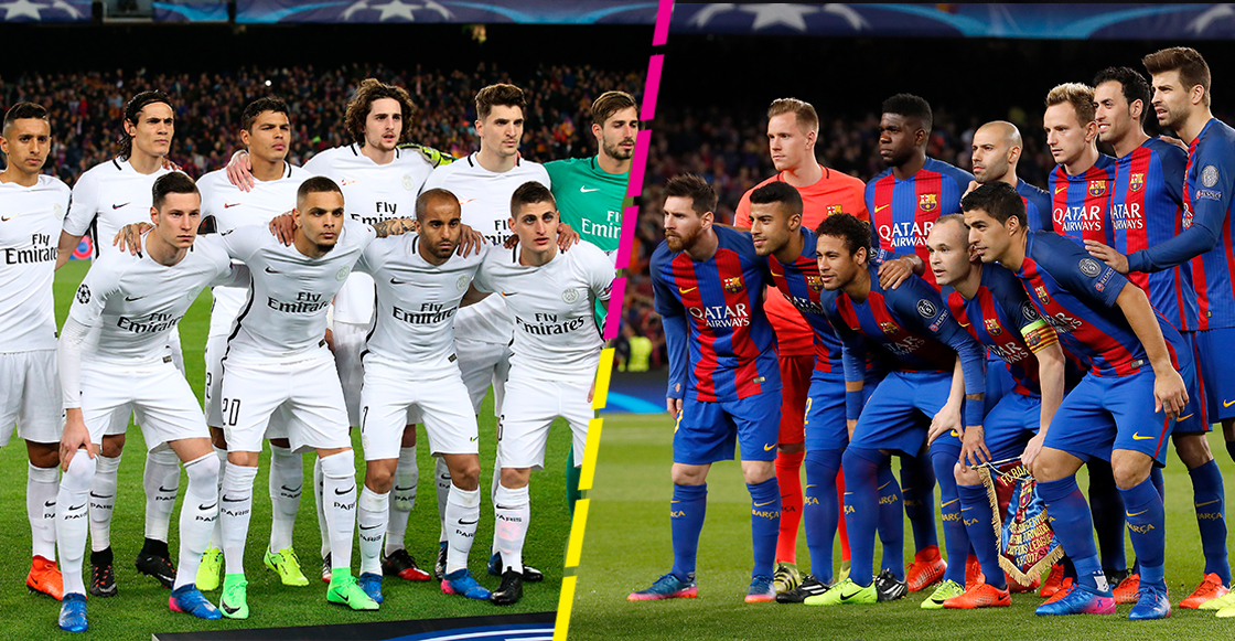 Barcelona vs PSG Champions League 2017
