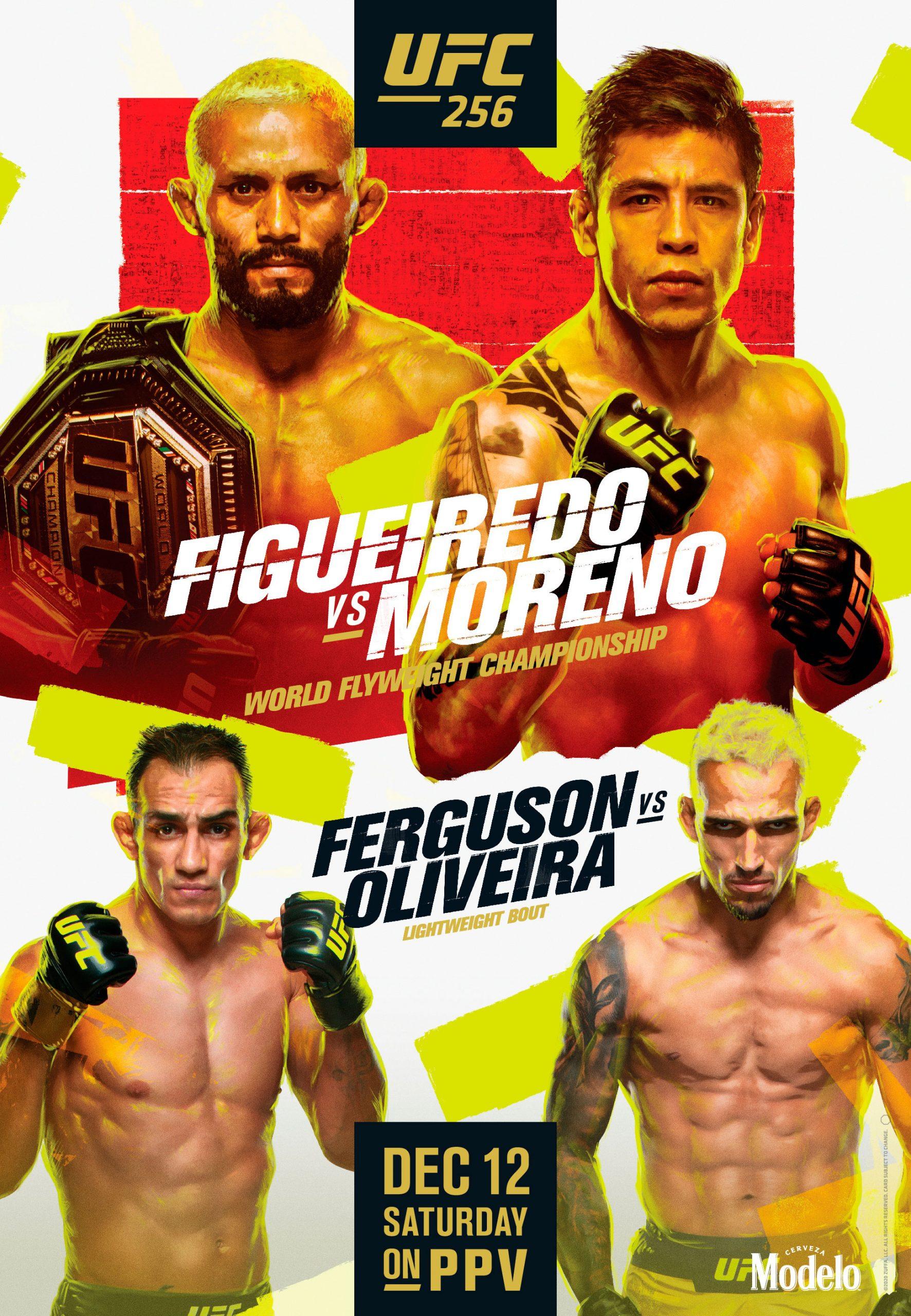 Brando Moreno pelea por título pluma de UFC