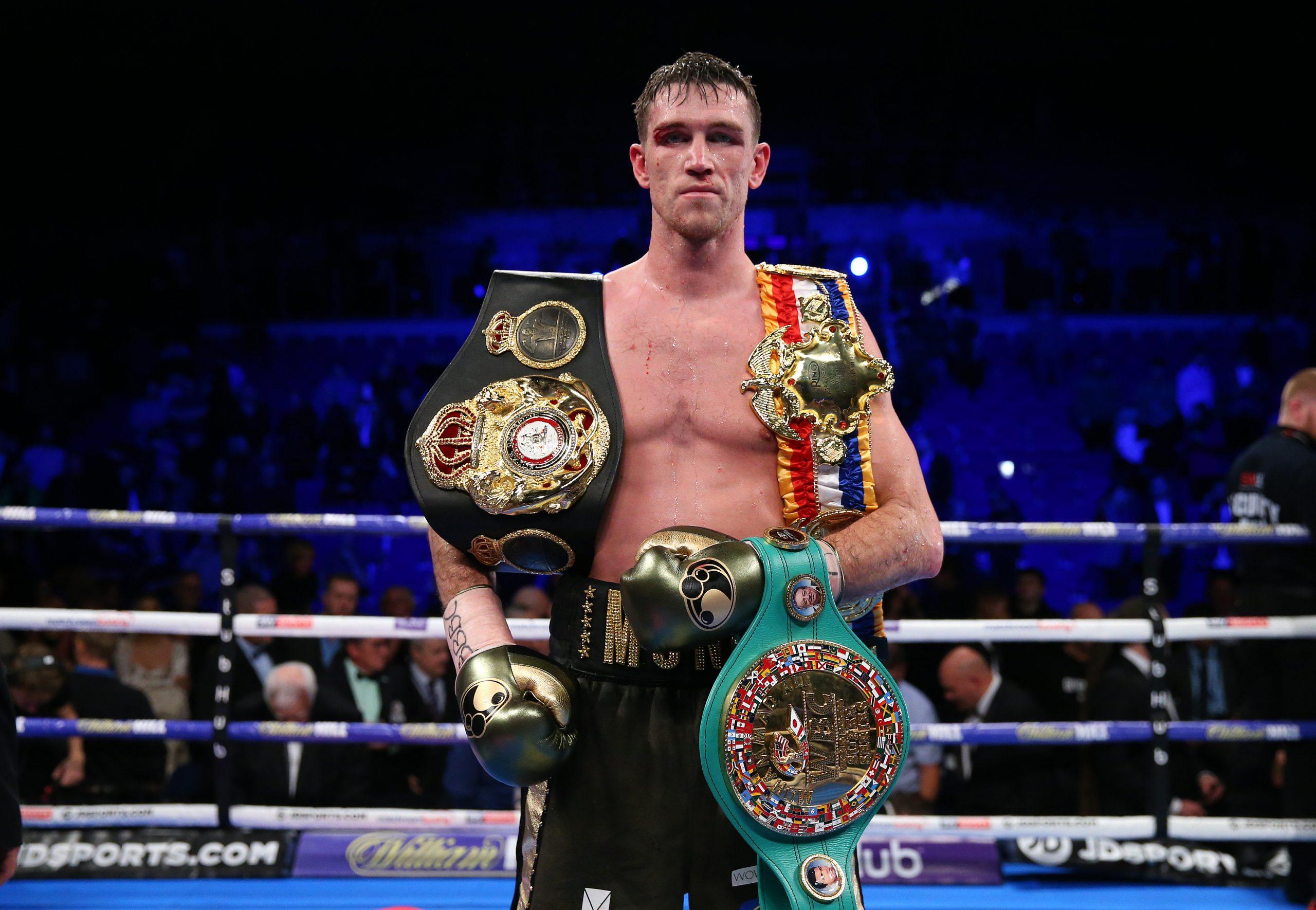 Callum Smith Box Champion Canelo