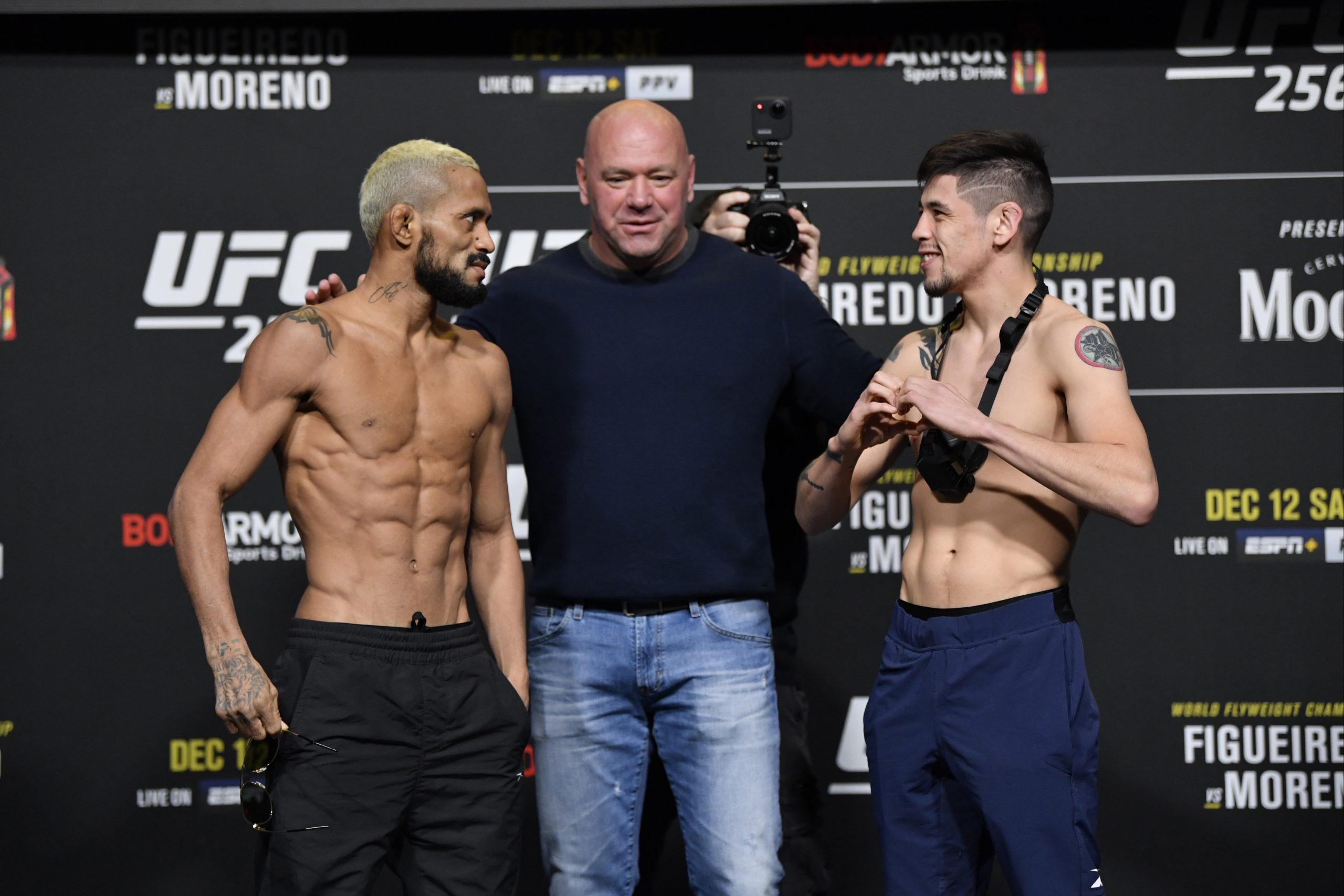 Deiveson Figuereido vs Brandon Moreno UFC