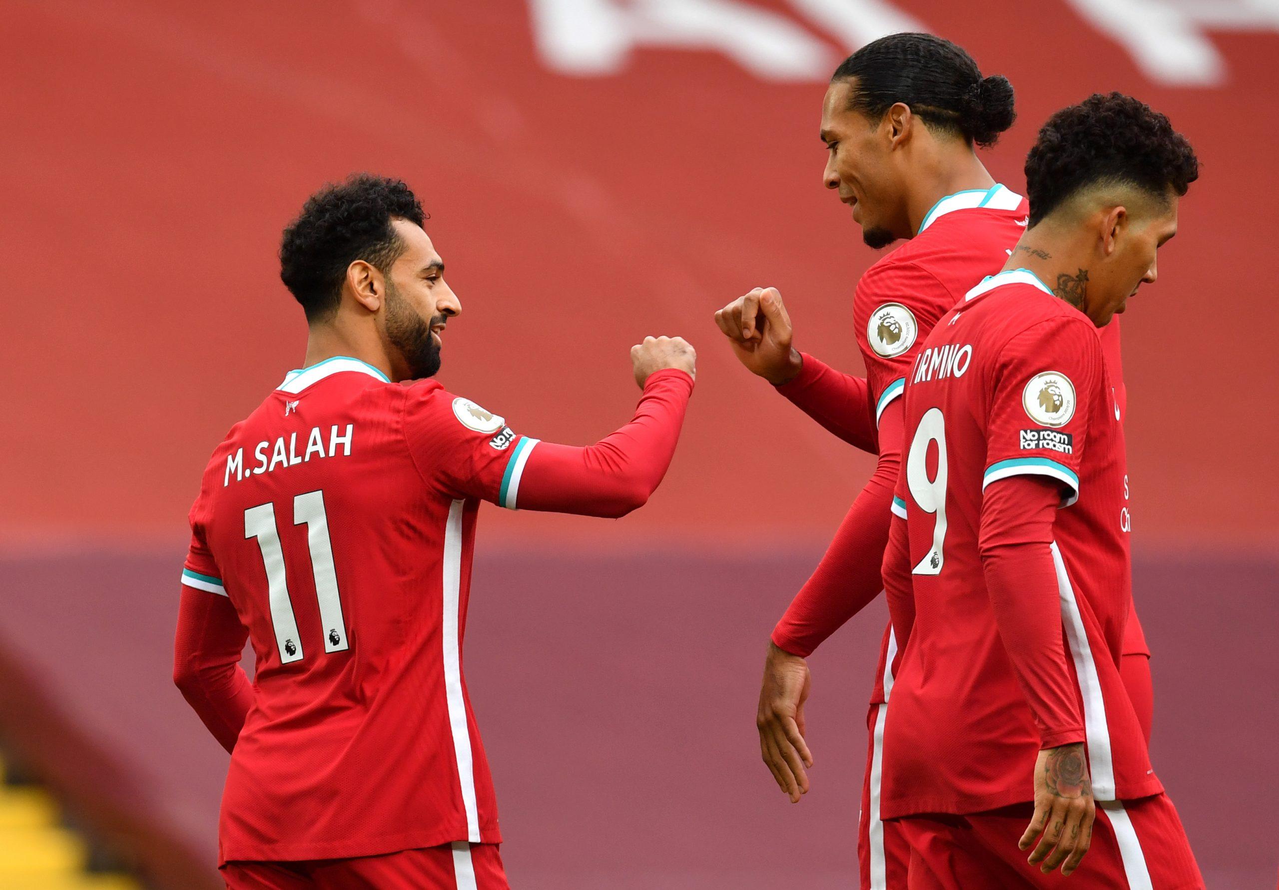 Mohamed Salah Anfield