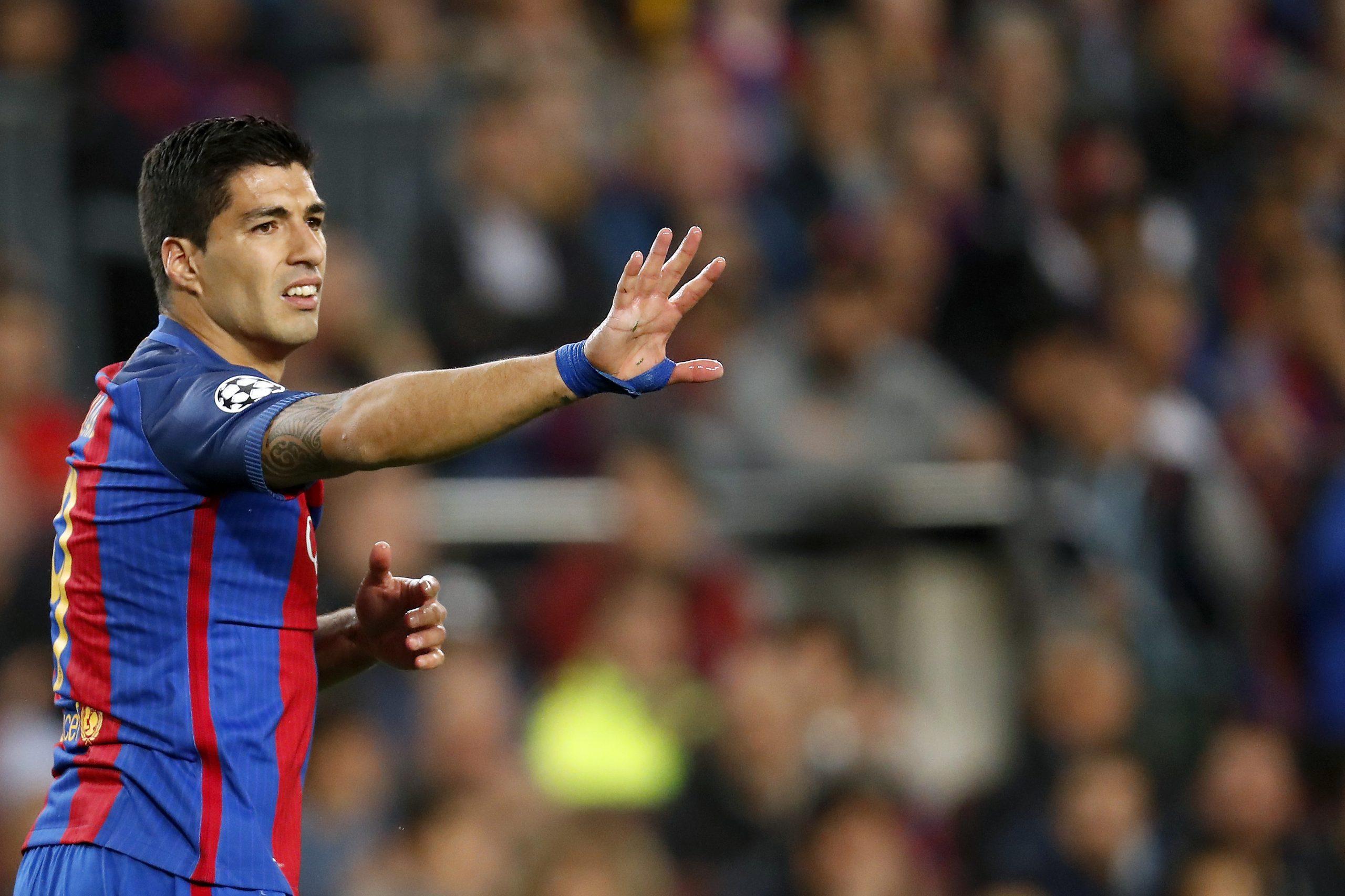 Luis Suárez Barcelona Champions League