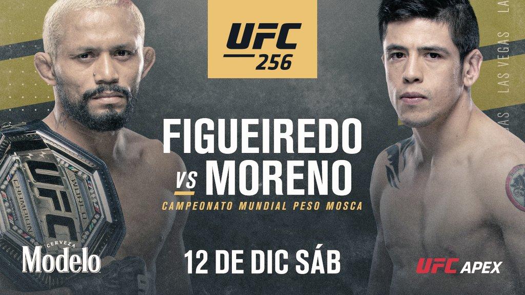 Figuereido vs Moreno por el título mosca de la UFC