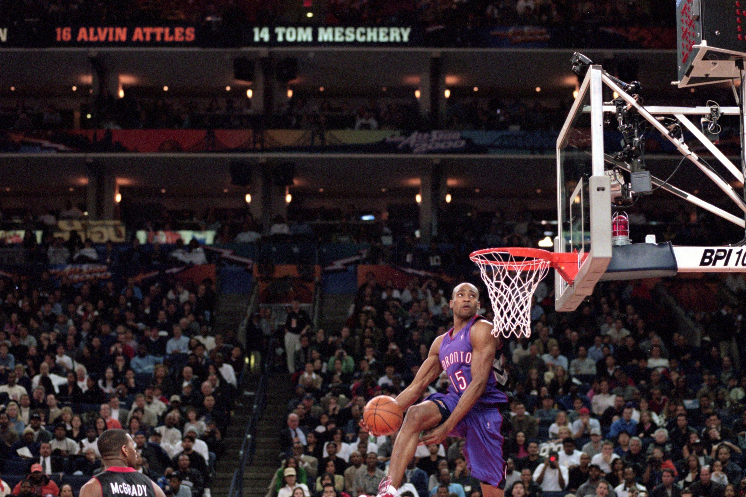 Vince Carter Toronto Raptors NBA