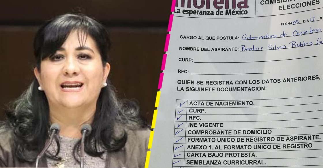 Diputada de Morena se registra como aspirante a gubernatura de 'Queretero' e internet no perdonó