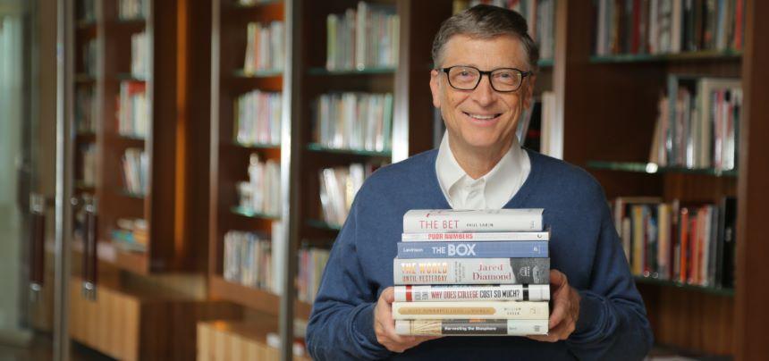 ¡Nerdgasmo! Estos son los 5 libros favoritos de Bill Gates del 2020