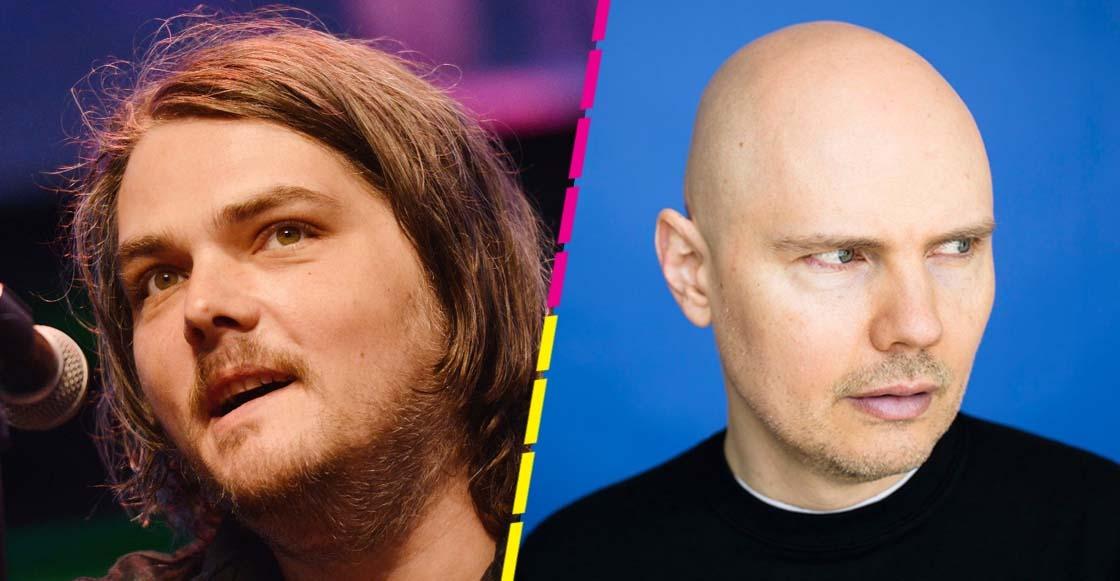 Una charla entre genios: Gerard Way entrevistó a Billy Corgan sobre el nuevo disco de The Smashing Pumpkins