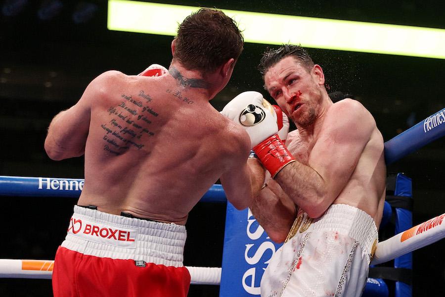 WTF!! ¿Qué le pasó al brazo de Callum Smith después de la pelea con el 'Canelo' Álvarez