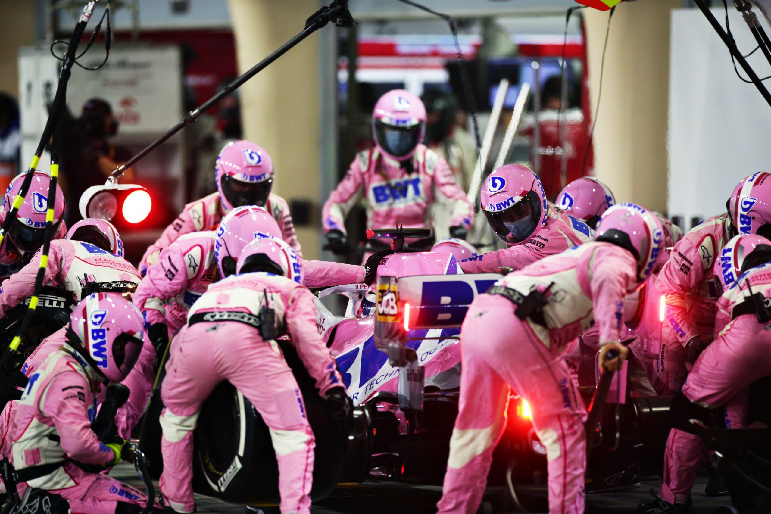 Checo Pérez despedida Racing Point