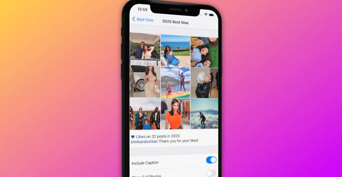 Pa' presumir con tus cuates: Acá te contamos como armar tu 'Best Nine' de Instagram 2020
