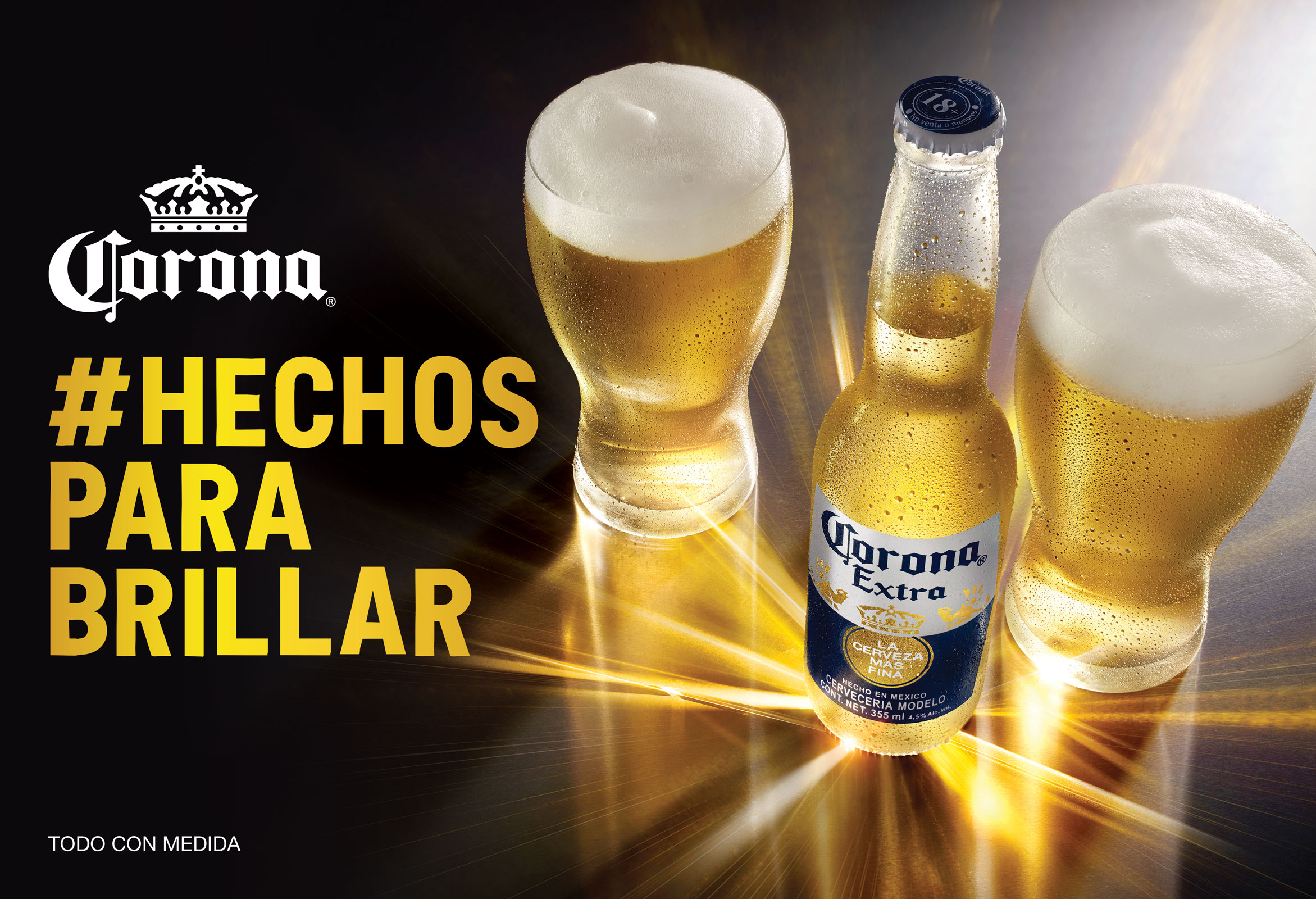 Brillas de León Larregui en Corona