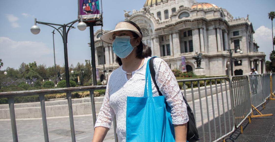 En México se confirmaron 11 mil 625 nuevos contagios de coronavirus en las últimas 24 horas