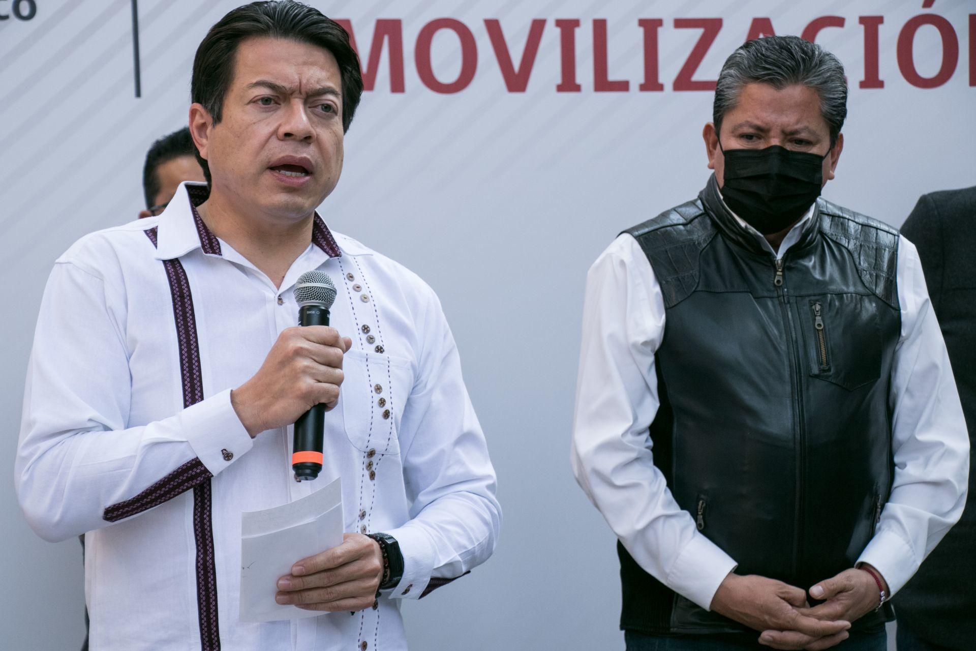 Morena anuncia a David Monreal como su candidato a la gubernatura de Zacatecas
