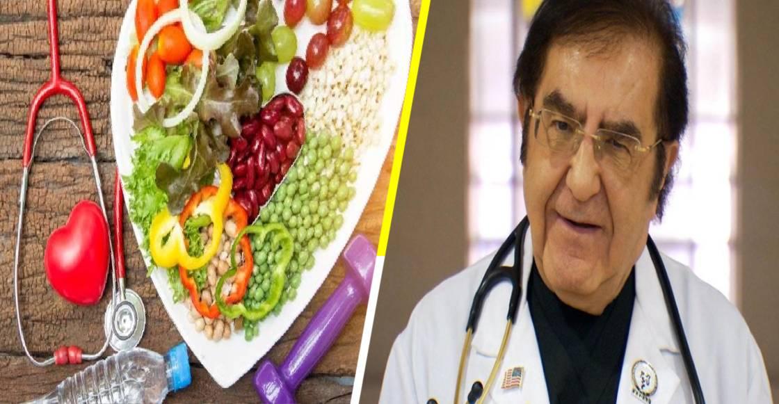 Revelan la dieta de 1,200 calorías del Dr. Nowzaradan de 'Kilos Mortales'