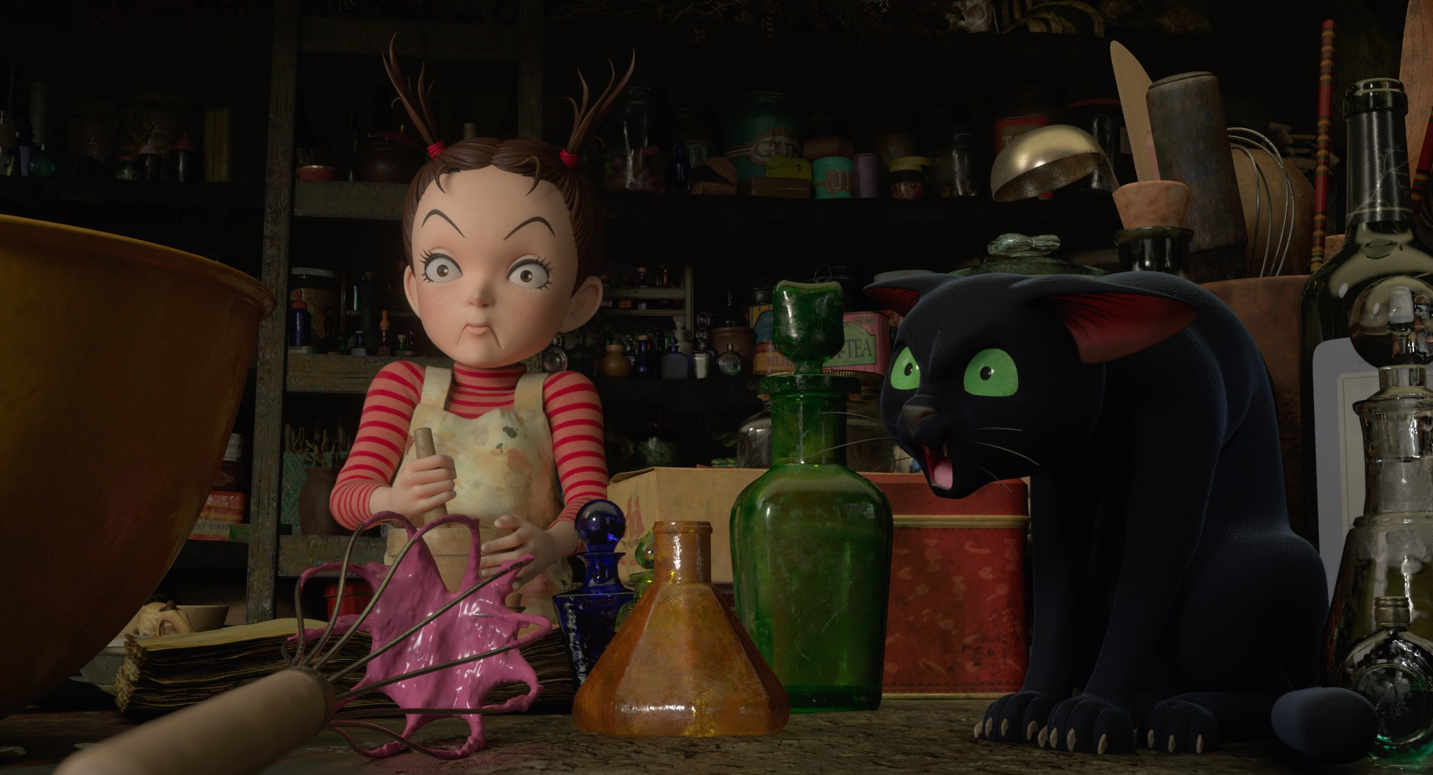 Checa el tráiler de 'Earwig and the Witch', la nueva cinta de Studio Ghibli