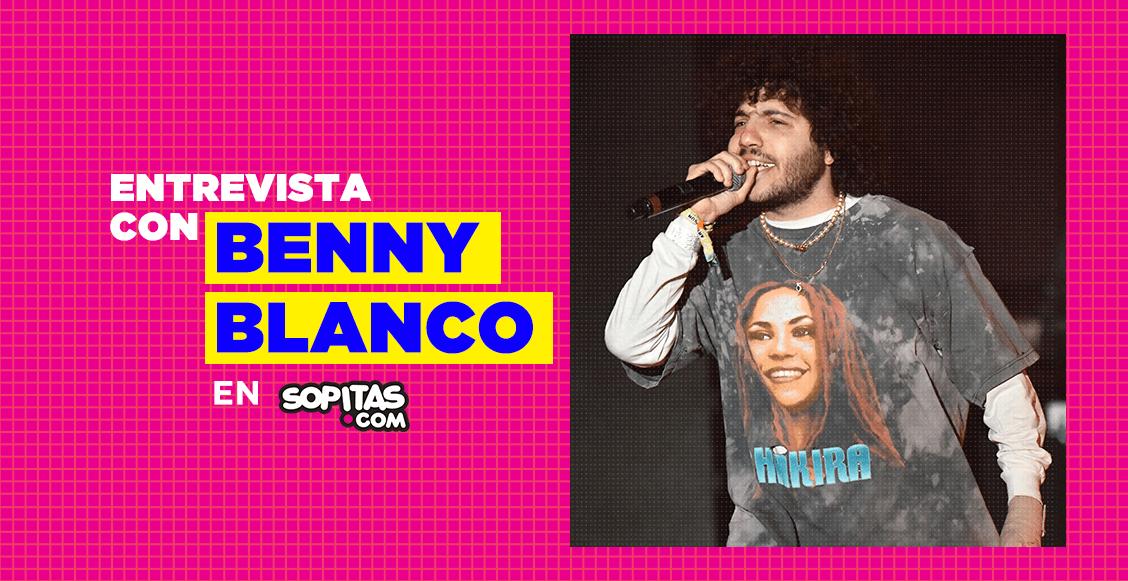 """""""Lo importante en la música es ser tú mismo"""": Una entrevista con Benny Blanco"""