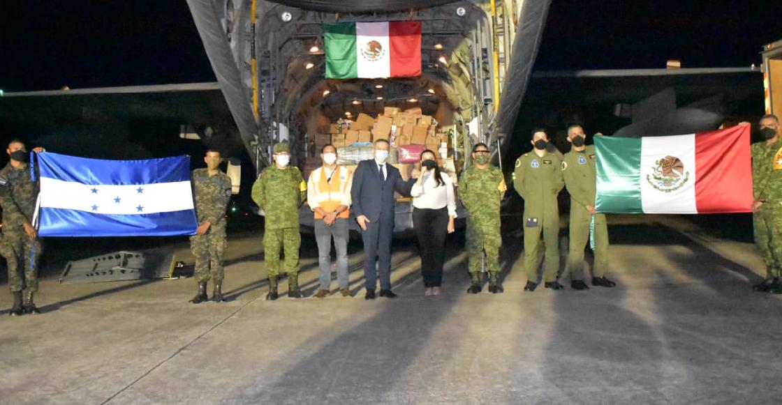 """""""¿Y Tabasco?"""": México envía ayuda humanitaria a Honduras y surgen críticas en redes"""