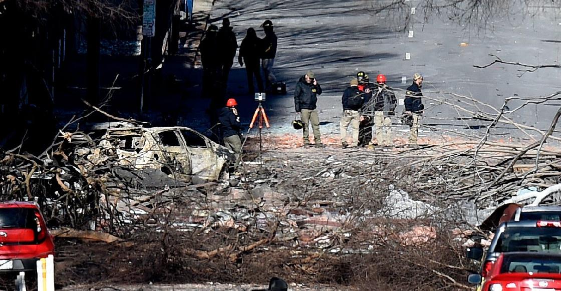 Declaran toque de queda en Nashville tras la explosión ocurrida en Navidad