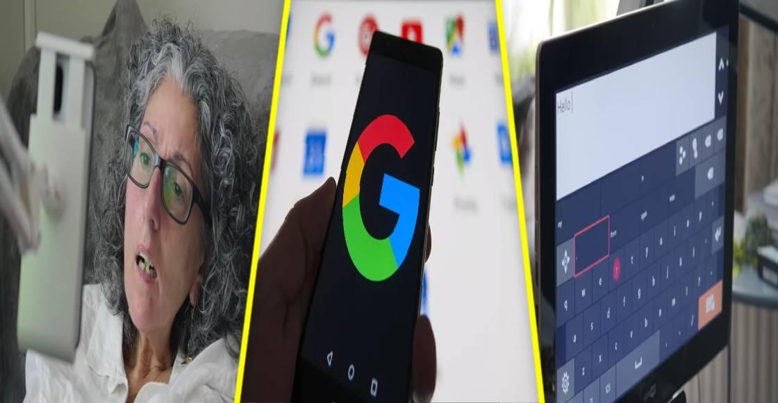 Look to Speak: La app más inclusiva de Google que escribe con solo mirar el teclado