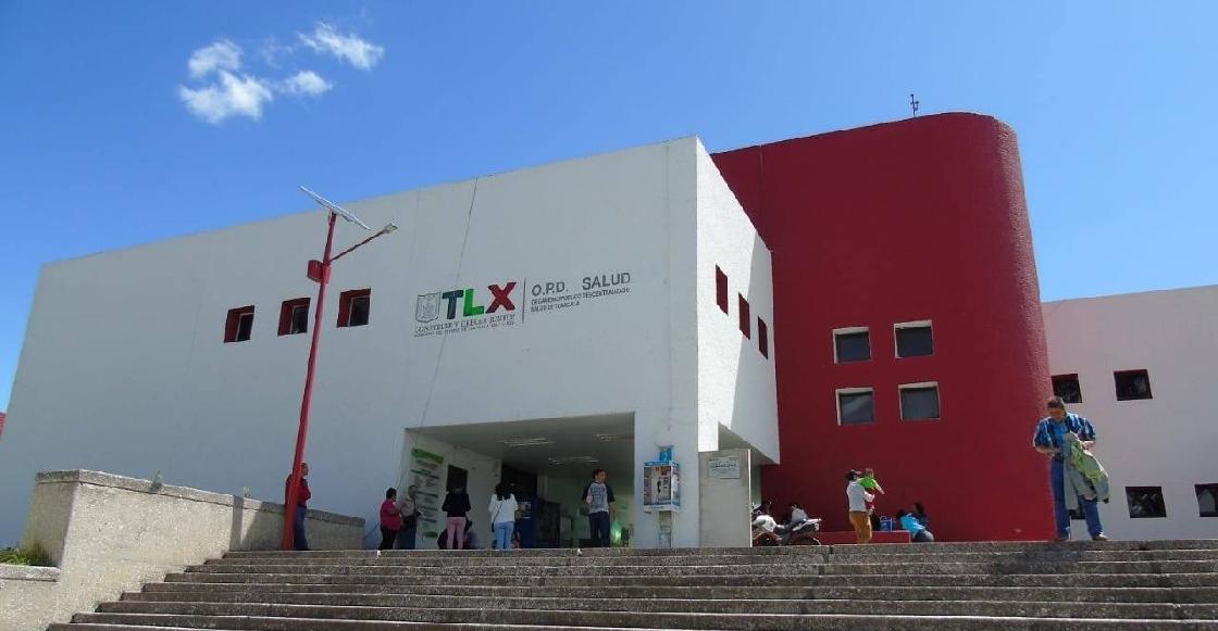 Pareja golpea a vigilante de un Hospital de Tlaxcala al no recibir atención inmediata