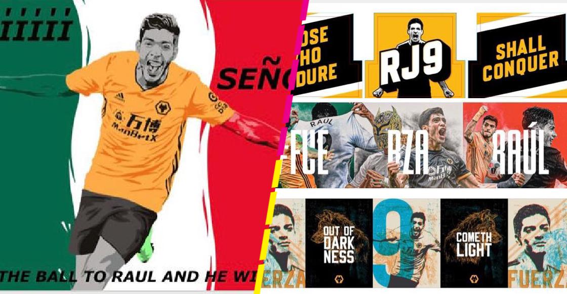 Pásale a ver todos los diseños finalistas para la pancarta gigante del Wolverhapton para Raúl Jiménez
