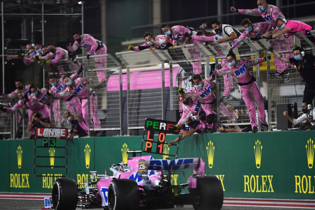 Primer triunfo en Fórmula 1