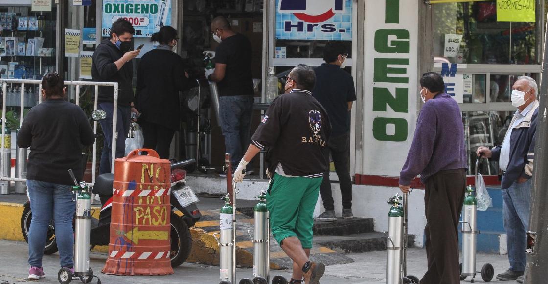 Sheinbaum niega escasez de tanques de oxígeno en CDMX