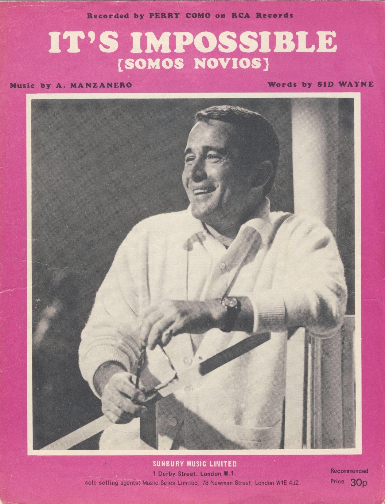 Sid Wayne y su adaptación de Armando Manzanero