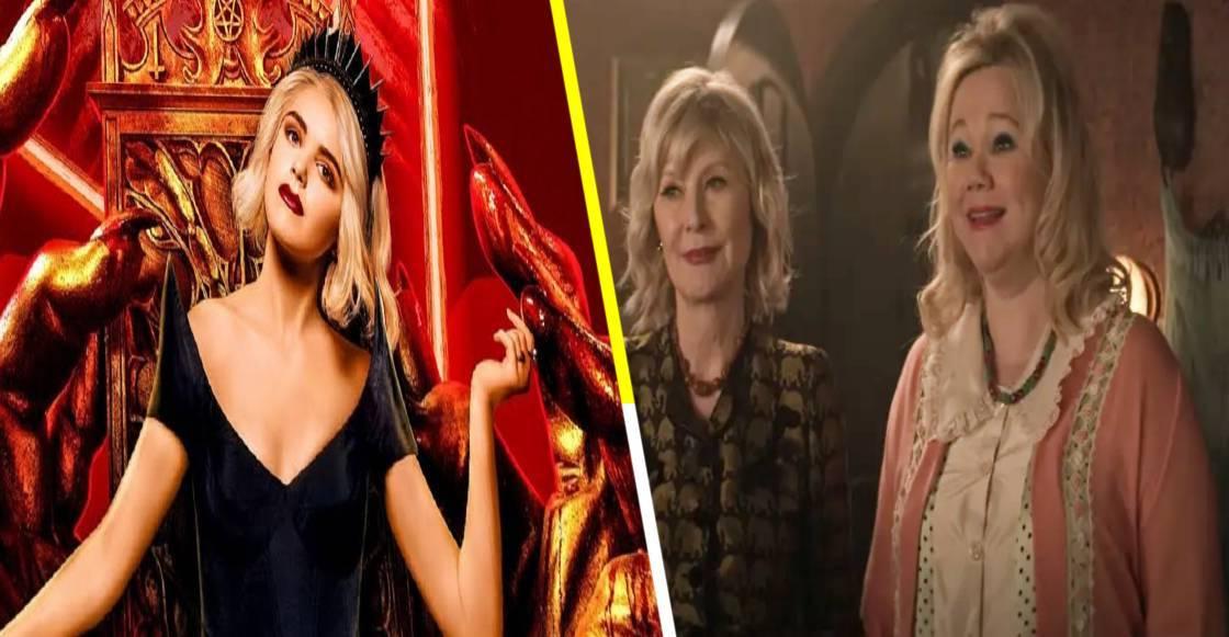 Las tías Hilda y Zelda originales aparecerán en la temporada 4 de 'Chilling Adventures of Sabrina'