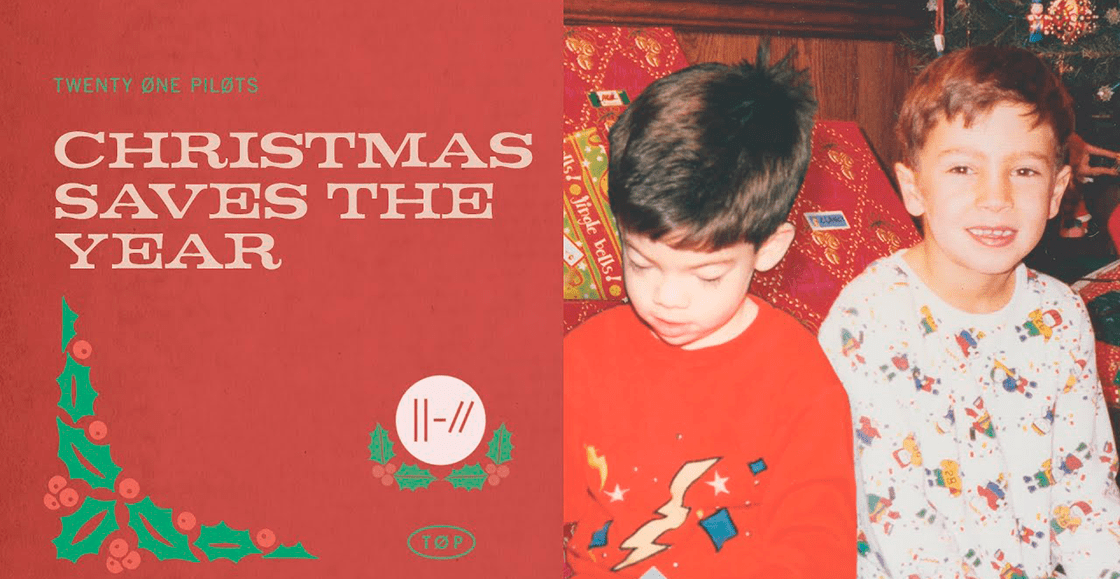 "Twenty One Pilots se ponen en mood navideño con la rola ""Christmas Saves The Year"""