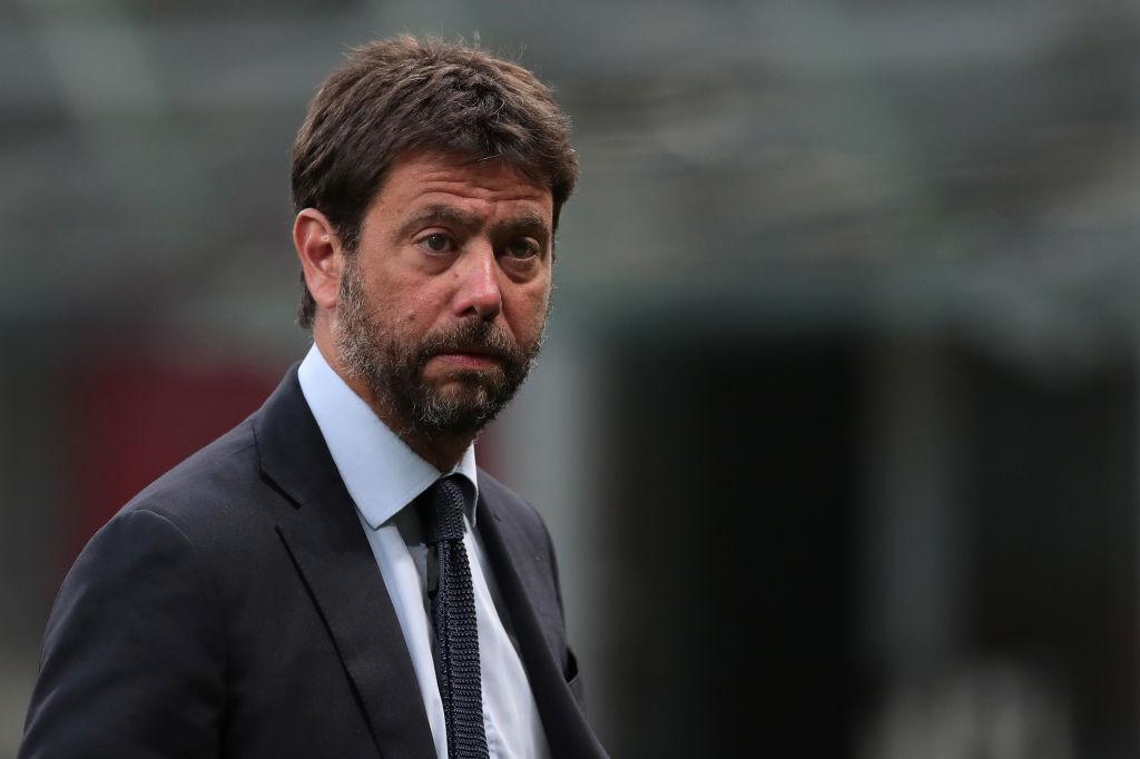Andrea Agnelli presidente de la Juventus
