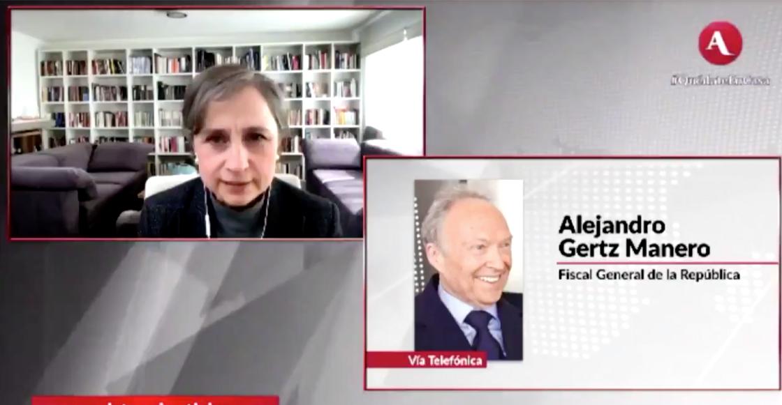 Entrevista de Aristegui a Gertz Manero