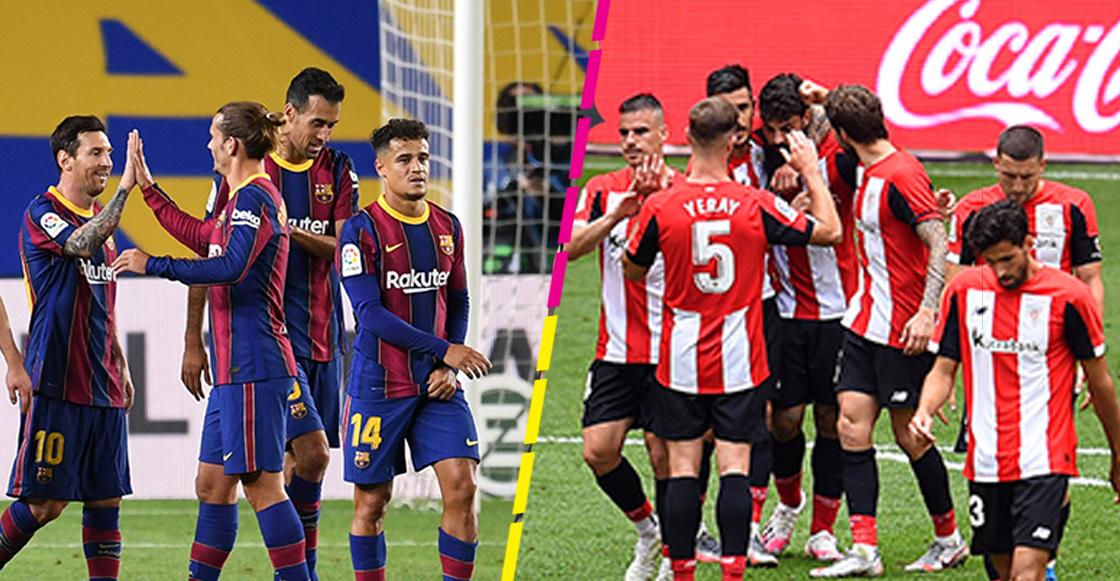 Barcelona vs Athletic de Bilbao Supercopa de España