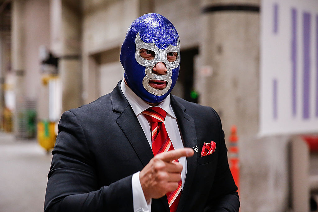 Blue Demon Lucha Libre Alcaldía GAM