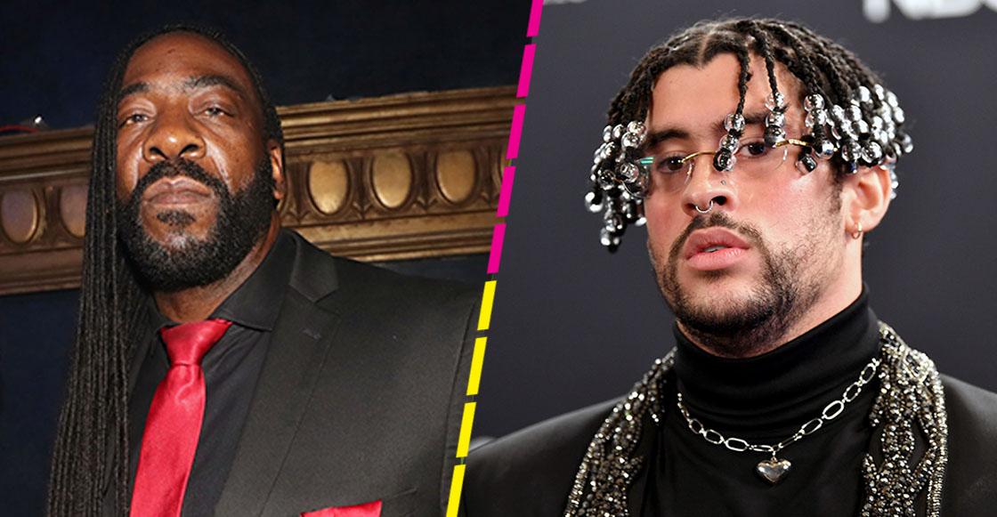 Booker T y Bad Bunny Royal Rumble WWE