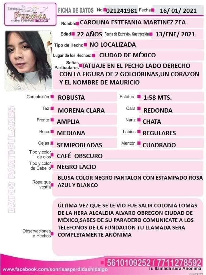 Carolina Estefania Martinez ENAH 2