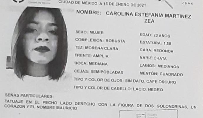 Carolina Estefania Martinez ENAH 4