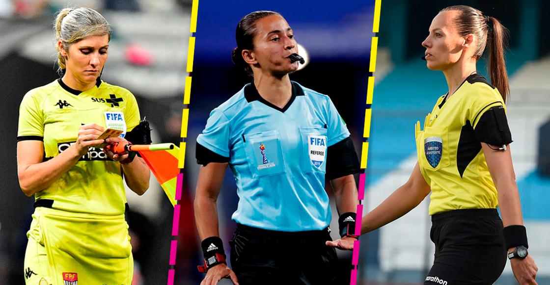 Edina Alves Batista, Neuza Back y Mariana de Almeida
