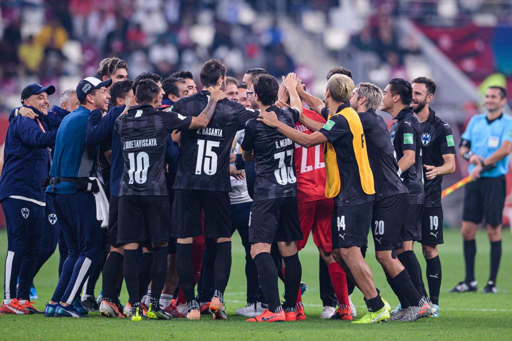 Celebración equipo de futbol FIFA