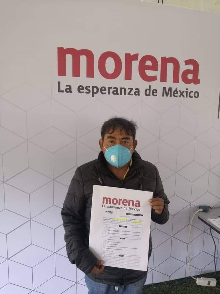 Vocero Ayotzinapa 43 Felipe de la Cruz