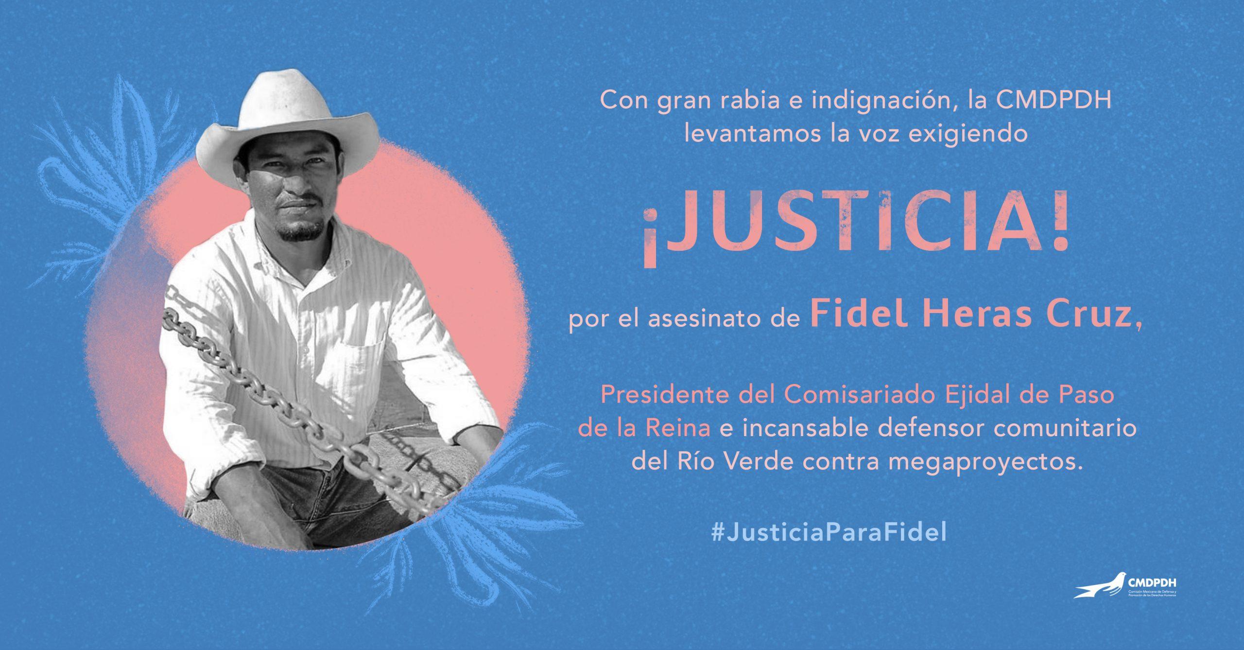 Fidel Heras defensor comunitario 1